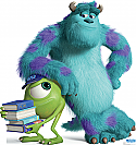 Mike and Sulley - Monsters University Cardboard Cutout Standup Prop